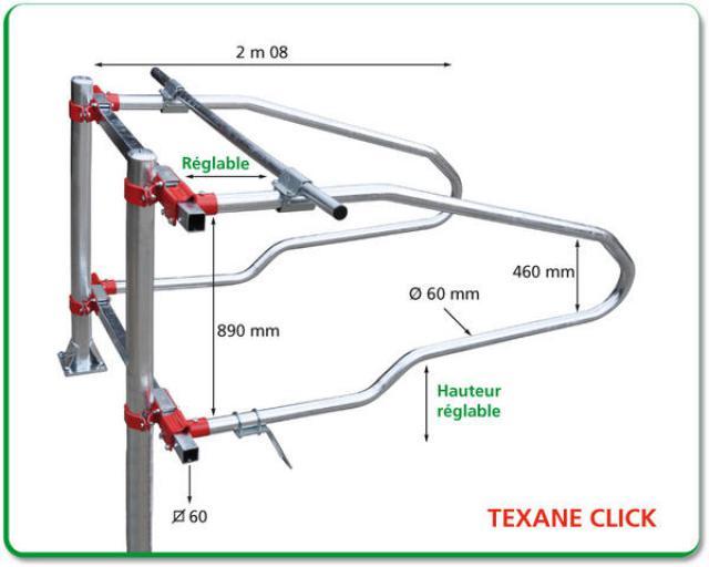 LOGETTE TEXANE CLICK